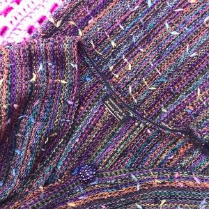 Vintage Sweaters - Joseph Technicolor Dreamcoat Rainbow Cardigan